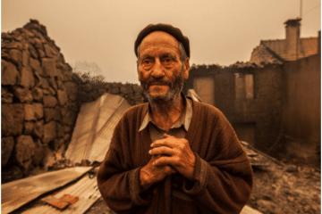 Fotojornalistas na linha da frente dos incêndios