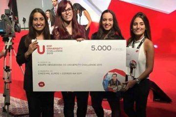 Alunos da UAL vencem EDP Challenge 2015