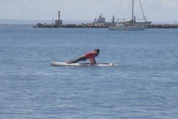 Yoga ao sabor da maré