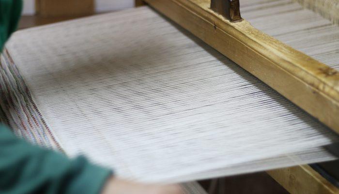Máquina manual de tecelagem