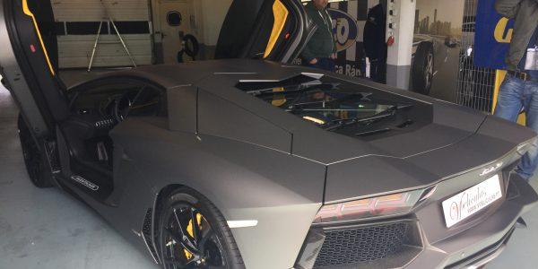 Lamborghini Aventador (Traseira)