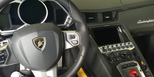 Lamborghini Aventador (Interior)