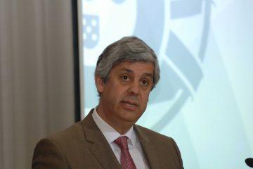 """Mário Centeno: """"Somos todos Portugal e, no Eurogrupo, somos todos Europa"""""""