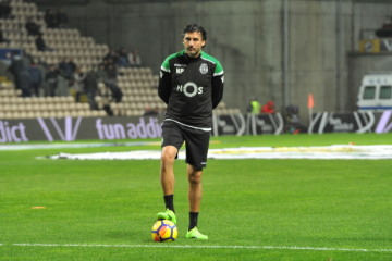 """Nelson Pereira: """"Cheguei a ir vê-los ao estádio e, do nada, estava a partilhar o balneário com eles"""""""