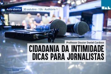 Daniel Cardoso dá aula na Autónoma