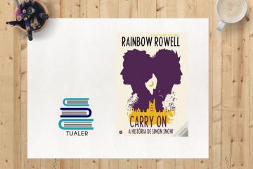 """TUaLER: """"Carry On: A História de Simon Snow"""", uma paródia mágica"""