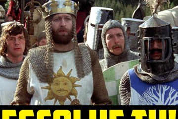 Escolhe Tu: Monty Python and the Holy Grail