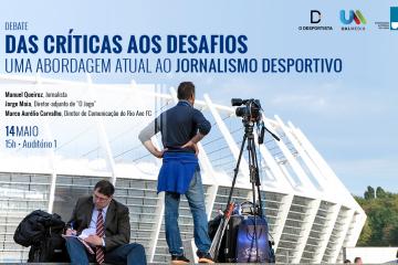 Jornalismo desportivo em debate na Autónoma