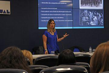 Jornalista Joana Reis participa em aula aberta de Comunicação Política