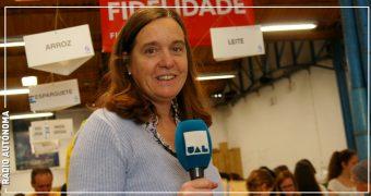 Isabel Jonet na Rádio