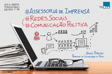Assessoria política e redes sociais em debate na Autónoma