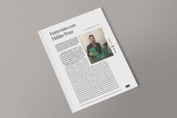Hélder Prior em entrevista à revista 'InMediaciones'