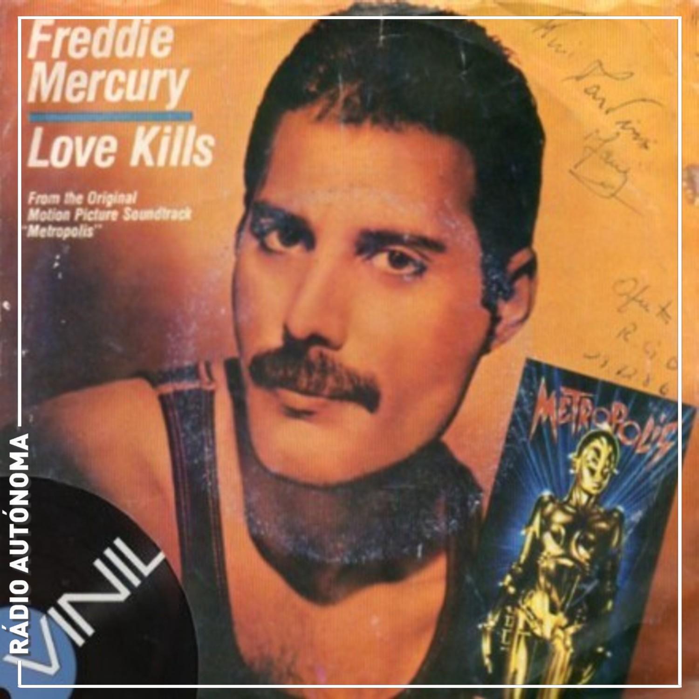 Vinil: Freddie Mercury – Love Kills