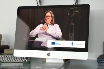 Paula Lopes participa no projeto EU Awareness da Comissão Europeia