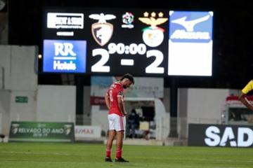 Raio-X ao Futebol: Benfica volta a empatar e a crise no clube agrava-se